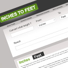 Inches to Feet